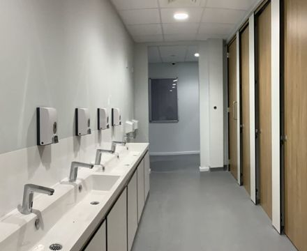 Toilet block 1