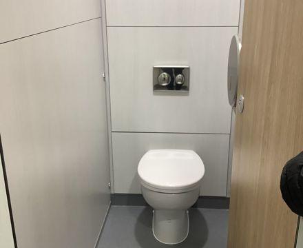 Toilet block 8