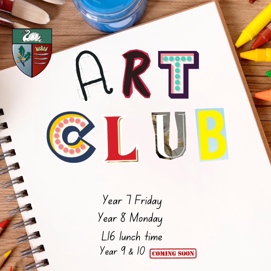 Art club website