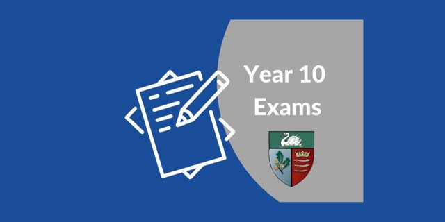 Year 10 Exams 14th-24th June